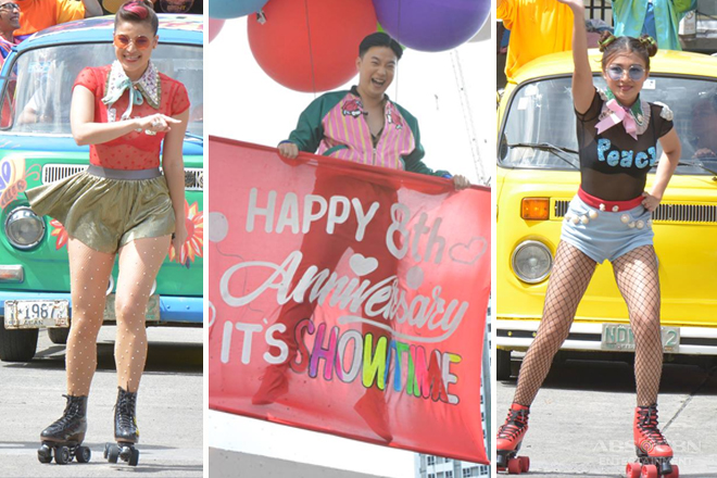 PHOTOS: Team Anne, Ryan & Nadine's colorful Love Parade in Magpasikat 2017