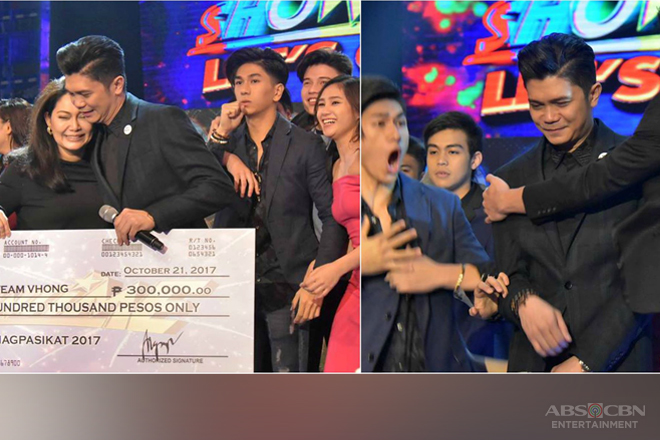 WINNING MOMENTS: Team Vhong named Grand Champion of Magpasikat 2017