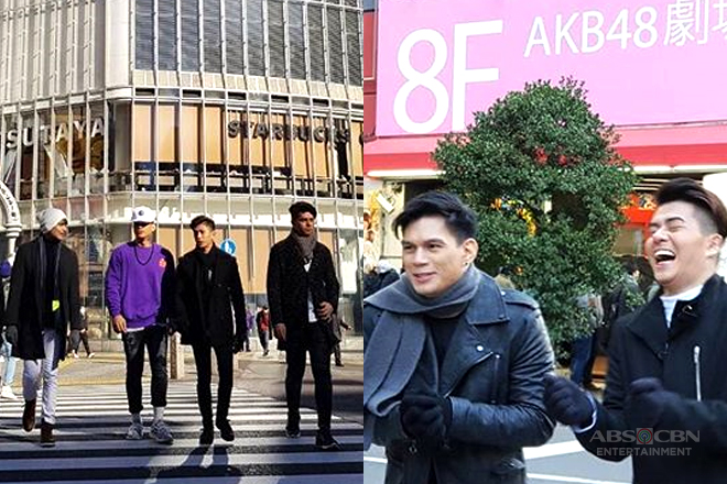 IN PHOTOS: Hashtag Zeus, Nikko, Luke at Maru, masayang nilibot ang Japan!