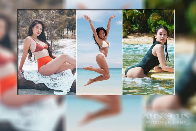 Summer ready: Girltrends in their swimsuit photos