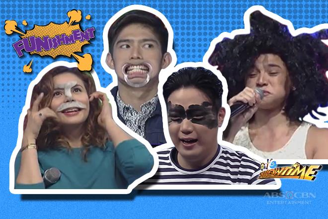 LOOK: Mga artistang naharap sa kakaibang hamon ng FUNishment sa It's Showtime!