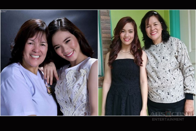 It's Showtime's Ate Girl 'Jackque' with her ever supportive look-a-like mom