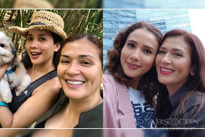 It's Showtime's Karylle with her beautiful look-a-like mom Zsa Zsa!