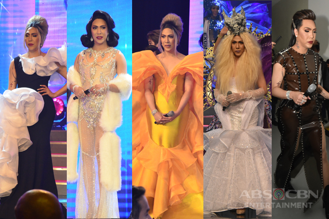 IN PHOTOS: Vice Ganda's 'ka-vogue' OOTDs at the Miss Q & A Grand Finals