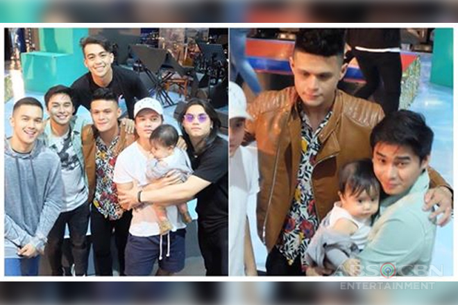 LOOK: Jon Lucas reunites with Hashtags to meet baby Brycen