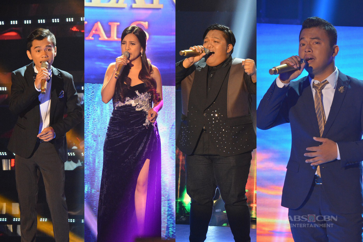 IN PHOTOS: Quarter 1 Semi Finals of Tawag Ng Tanghalan Year 2