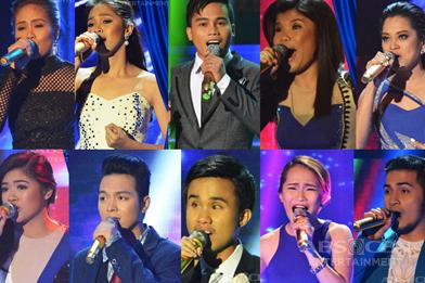 The  Grand Finalists of Tawag Ng Tanghalan