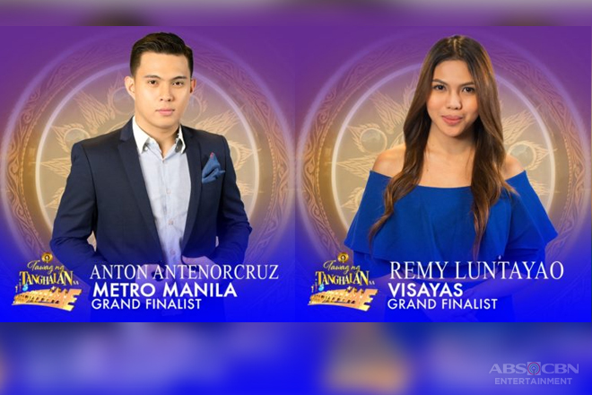 "Anton and Remy advance to ""Tawag ng Tanghalan"" grand finals"