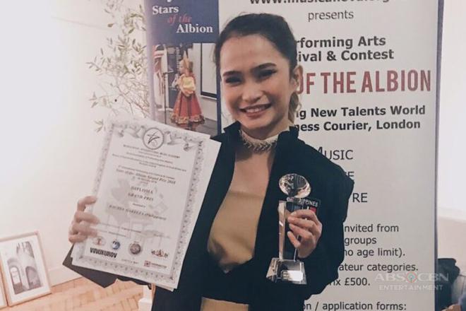 Tawag ng Tanghalan singer Rachel Gabreza, wagi sa Stars of the Albion Grand Prix 2018 sa London