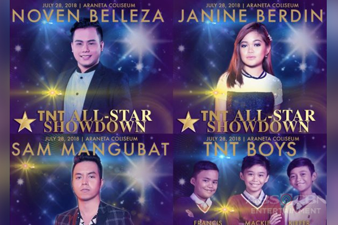 """Tawag ng Tanghalan"" singers invade Big Dome for ""TNT All-Star Showdown"""