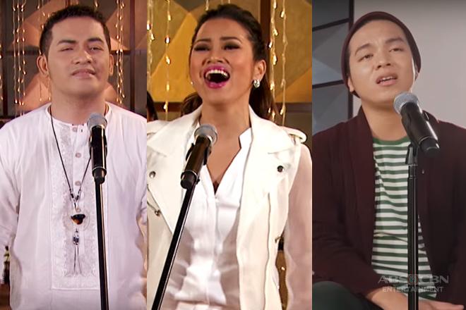 Tawag ng Tanghalan alumni's invigorating renditions to classic Christmas hymns