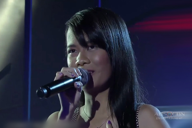 TNT: Luzon contender Julie Ann Buenaobra sings I Just Fall In Love Again