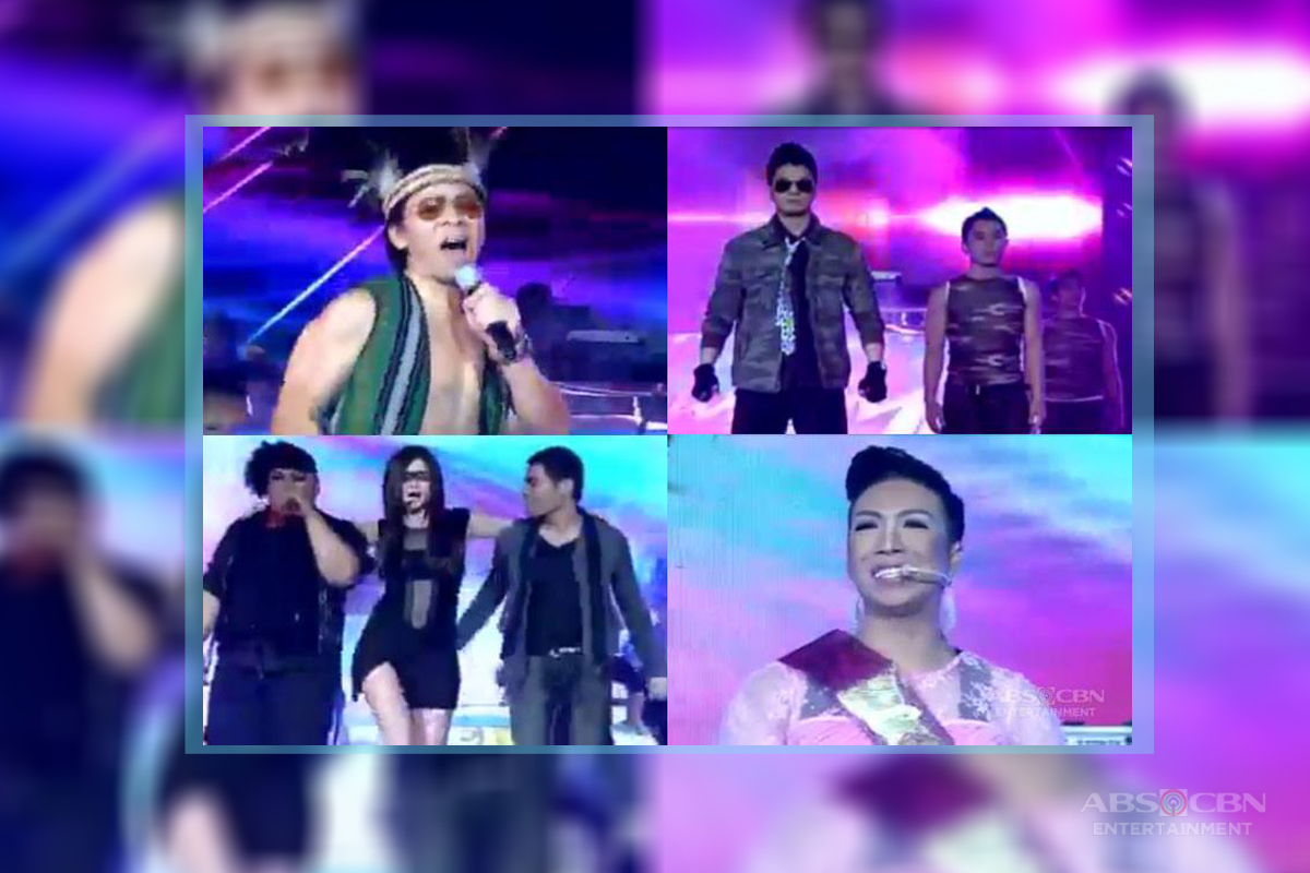 a description of the show its showtime Act description winning week monthly finals' result  it's showtime continued its dominance in the noontime slot with its fourth anniversary week special held from.