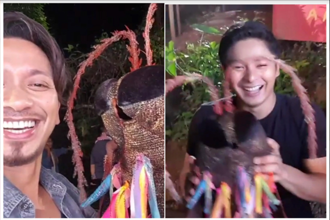 WATCH: Jhong Hilario introduces Ipad to Coco Martin!