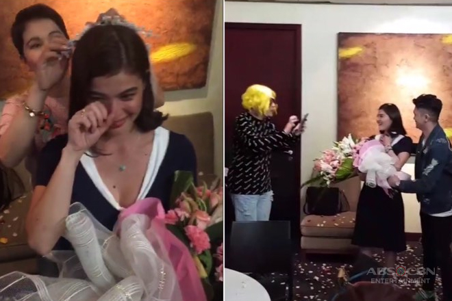 LOOK! It's Showtime family gives Anne a surprise bridal shower