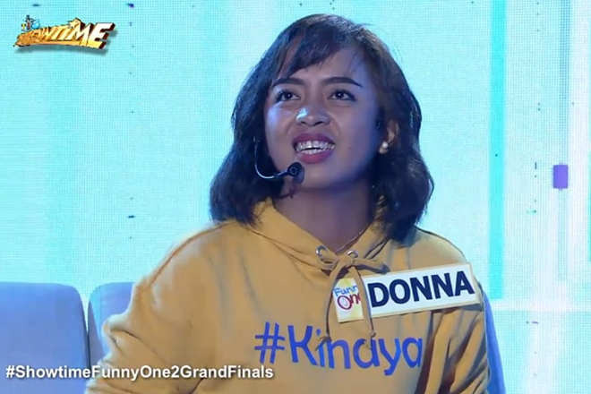 "Dona Cariaga ng Baguio, pinangalanang ""Funny One"" grand champion sa ""It's Showtime"""