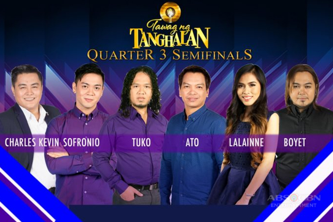 "Six singers compete for two grand finals slots in ""Tawag ng Tanghalan"""