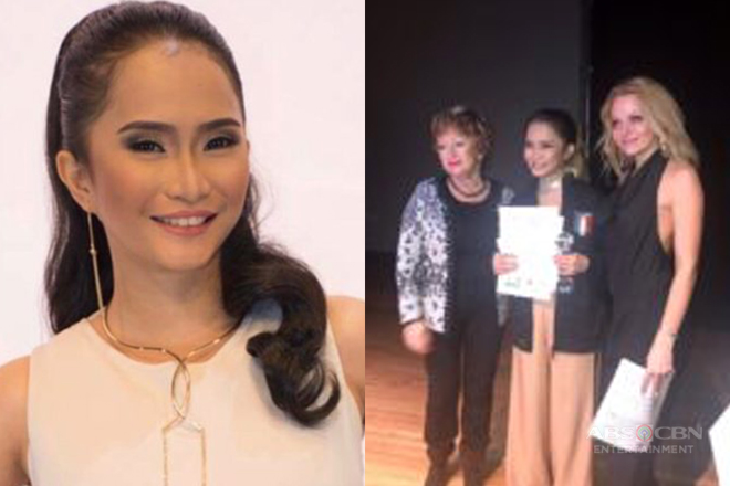Tawag ng Tanghalan singer Rachel Gabreza named champion in London's Stars of the Albion Grand Prix 2018