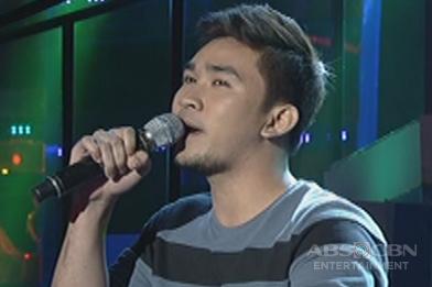 Luzon contender Michael Angelo Santos sings Eric Benet's The Last Time