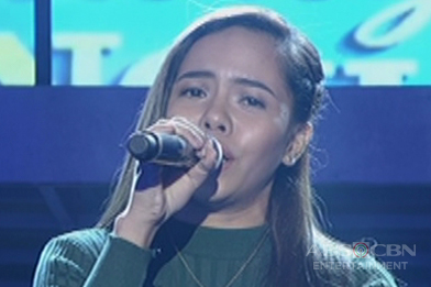 Visayas contender Christine Cambangay sings Natalie Cole's Starting Over Again