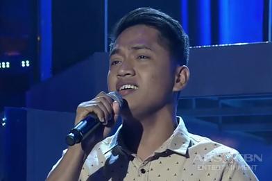Mindanao contender Michael Ryan Romero sings The Beatles' Yesterday