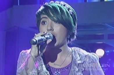 Luzon contender Behnaz Samadi Denani sings Kuh Ledesma's Ako Ay Pilipino