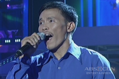 Mindanao contender Ronald Rosalita sings Ray Charles' I Can't Stop Loving You