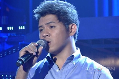 Metro Manila contender Kieffer Grande sings Jimmy Bondoc's Let Me Be the One