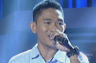 Luzon contender Benny Satona sings Whitney Houston's On My Own