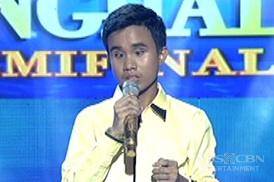 Q4 Semi-Finals Round 2:  Carlmalone Montecido sings Orient Pearl's Pagsubok