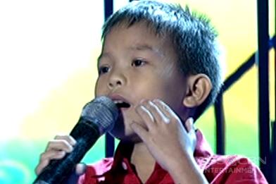 TNT KIDS: Mindanao contender sings Anjelou Palatolon sings Dakilang Lahi
