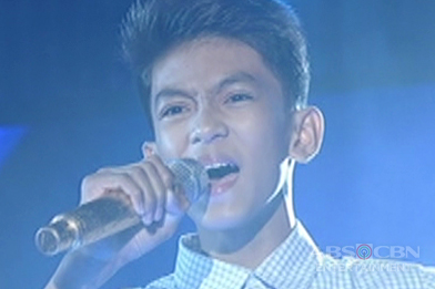 TNT KIDS: Defending champion Larenz Pableo sings The Impossible Dream