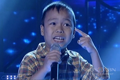 TNT KIDS: Mindanao contender Dexsel Plaza sings The Beatles' Help!