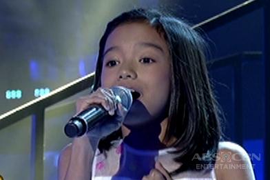 TNT KIDS: Luzon contender Alyssa Ericka Repia sings Paraiso