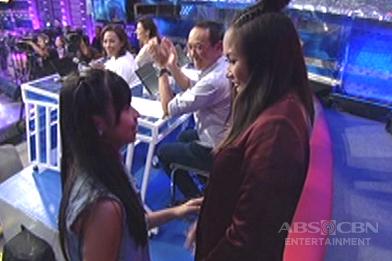 Hurados, binigyan ng yakap si daily contender Heather Lindsay Chu