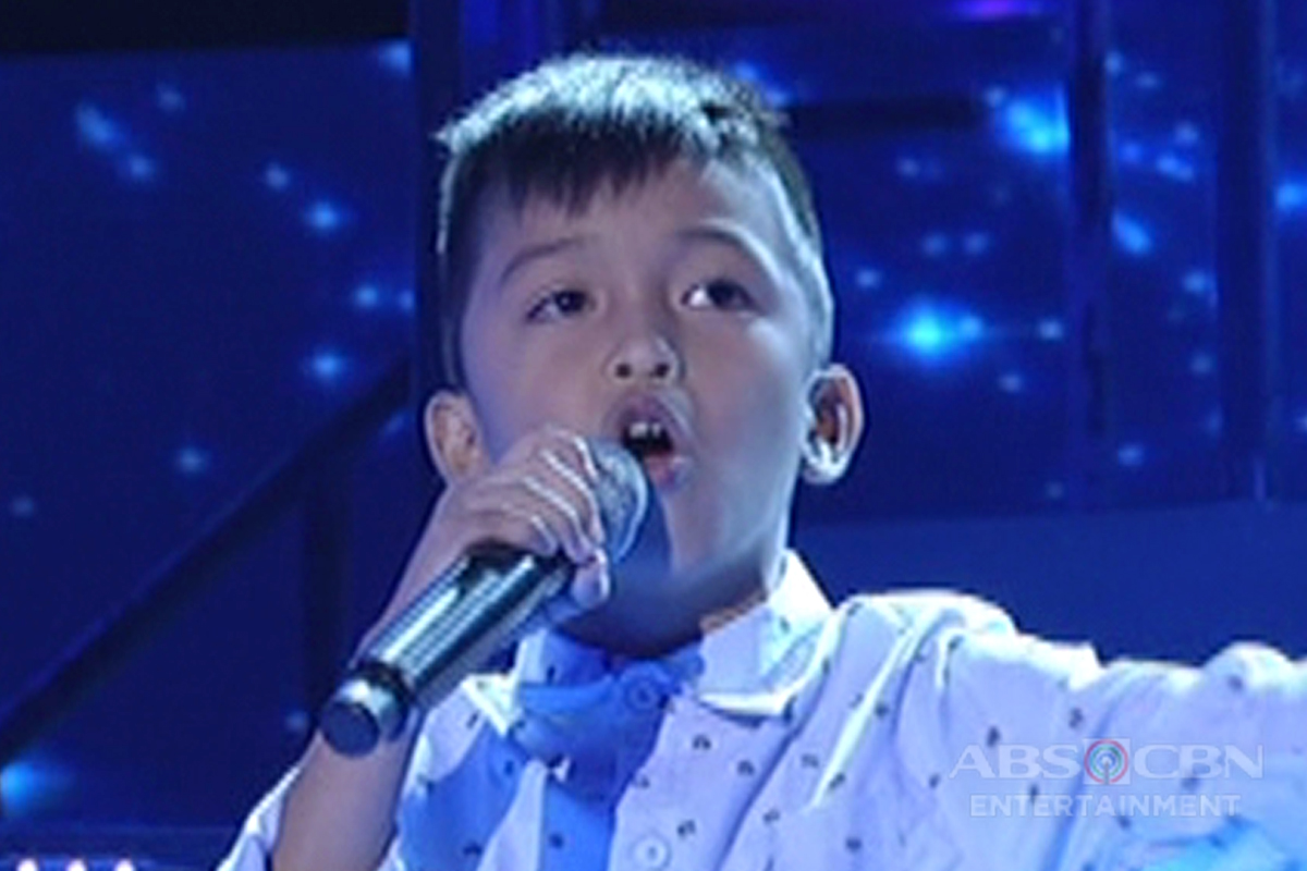 TNT KIDS: Mindanao contender Roem Jay Jumawan sings The Search Is Over
