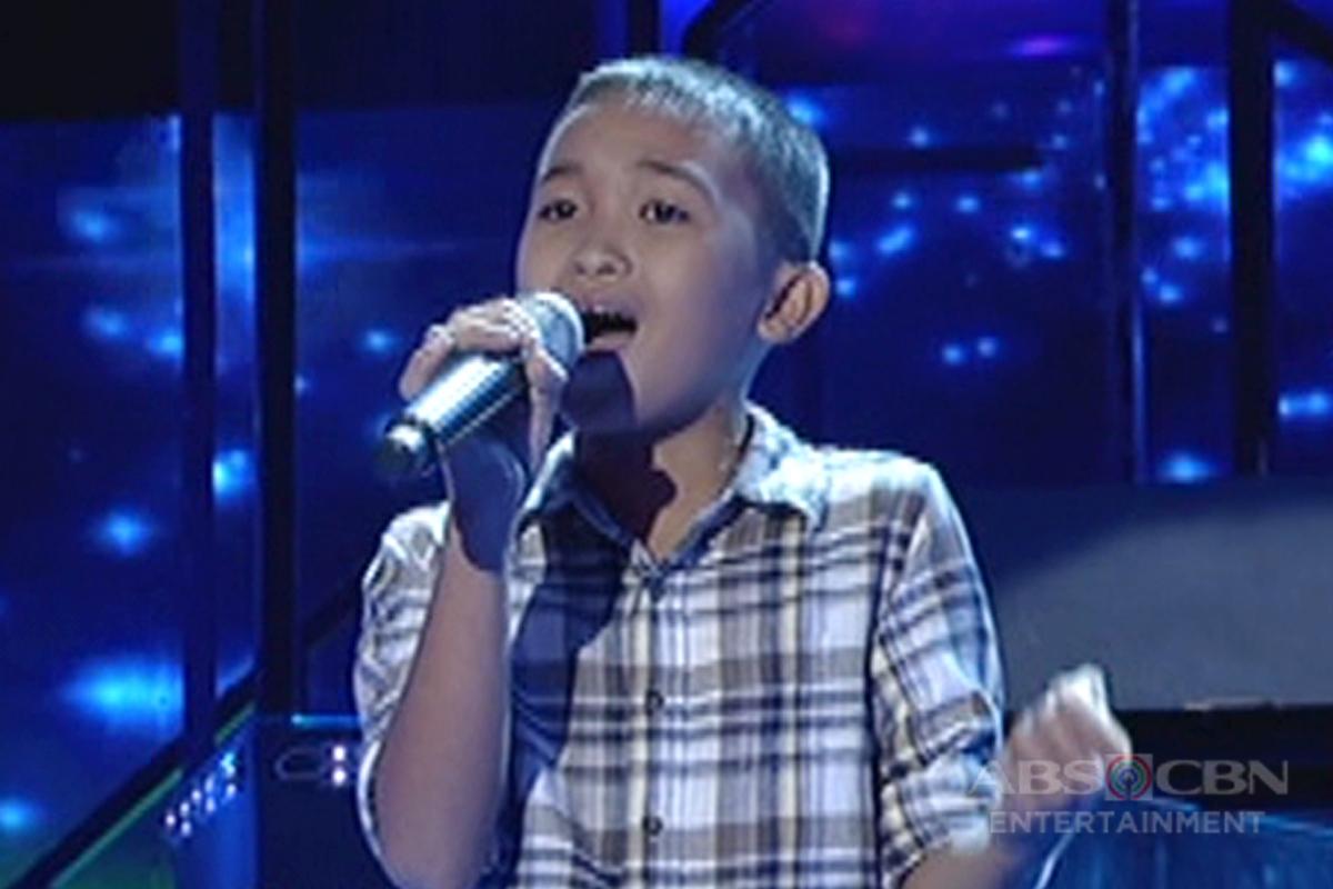 TNT KIDS: Mindanao contender Ricky Tumpong Jr. sings Aegis' Munting Pangarap