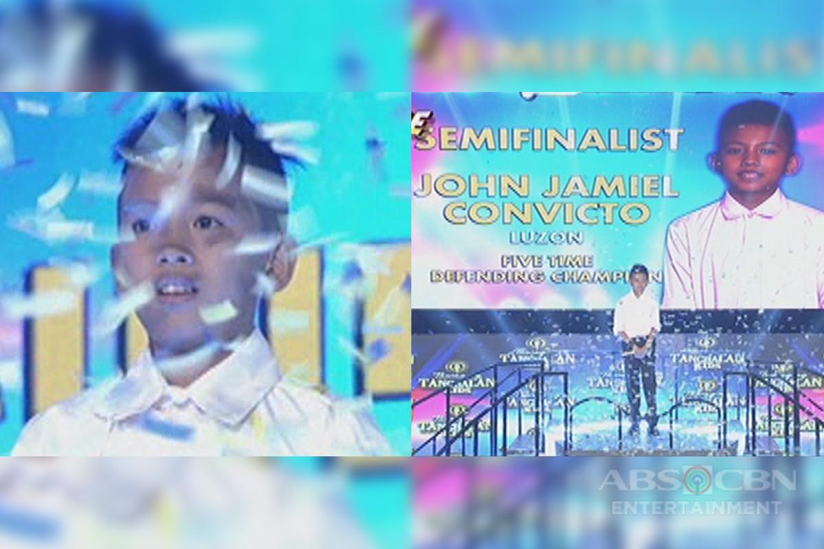 TNT KIDS: John Jamiel Convicto, tuluyan ng napabilang sa Tawag Ng Tanghalan semi finalist