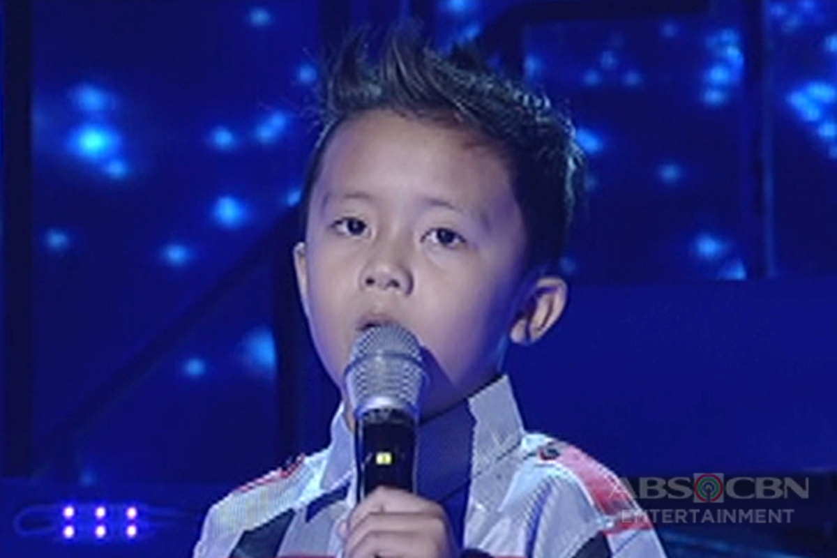 TNT KIDS: Mindanao contender Rjay Cuizon sings A Thousand Years