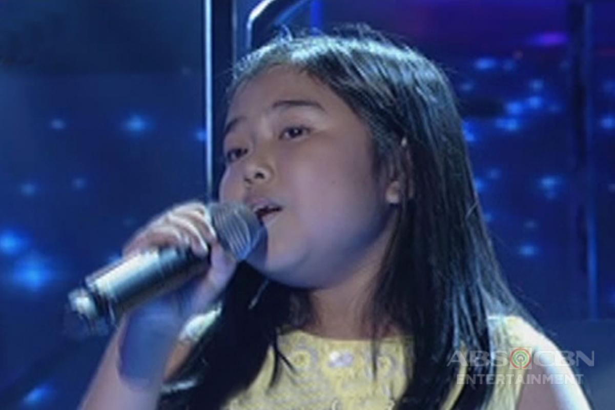 TNT KIDS: Visayas contender Cheska Rojas sings Demi Lovato's Skyscraper