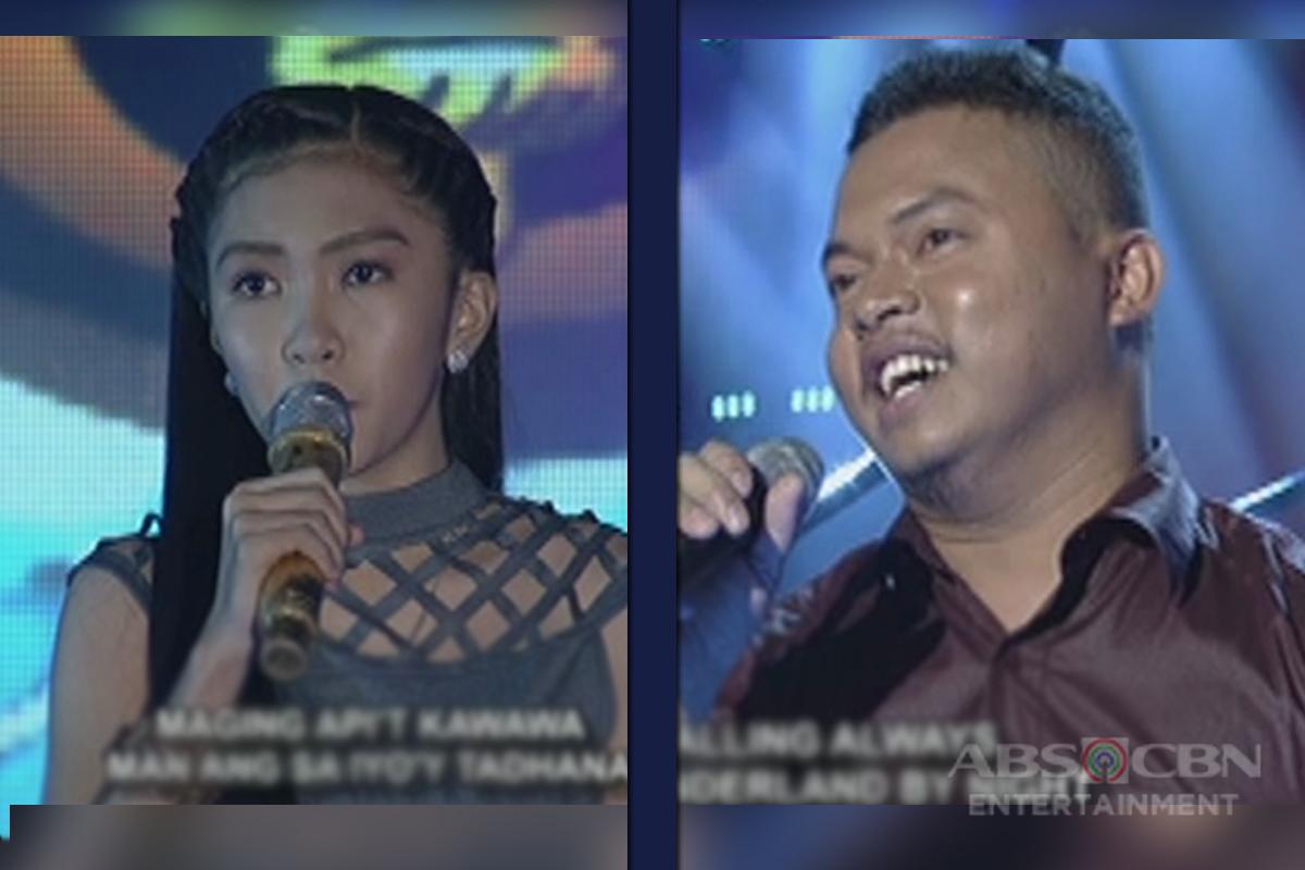 TNT: Alfred Relatado, hinamon ang 2-time defending champion na si Maria Diana Agustin