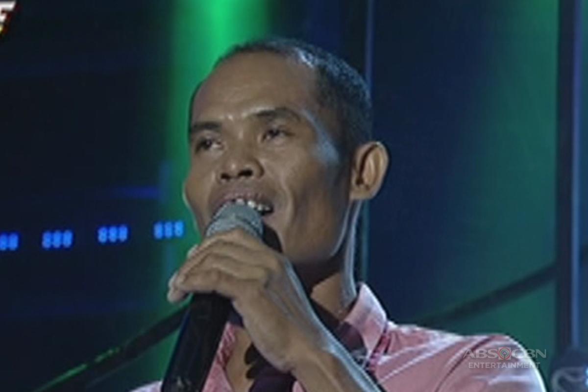 TNT: Visayas contender Ricky Conserman sings Basil Valdez's Kahit AKo'y Lupa