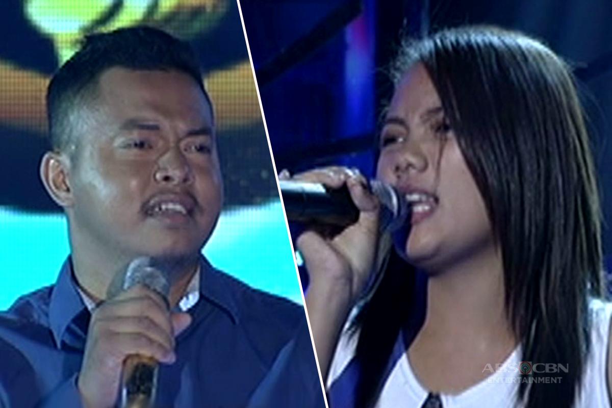 TNT: Rosalyn Mejica, sinubukan agawin ang golden microphone kay 4-time defending champion na si Alfred Relatado