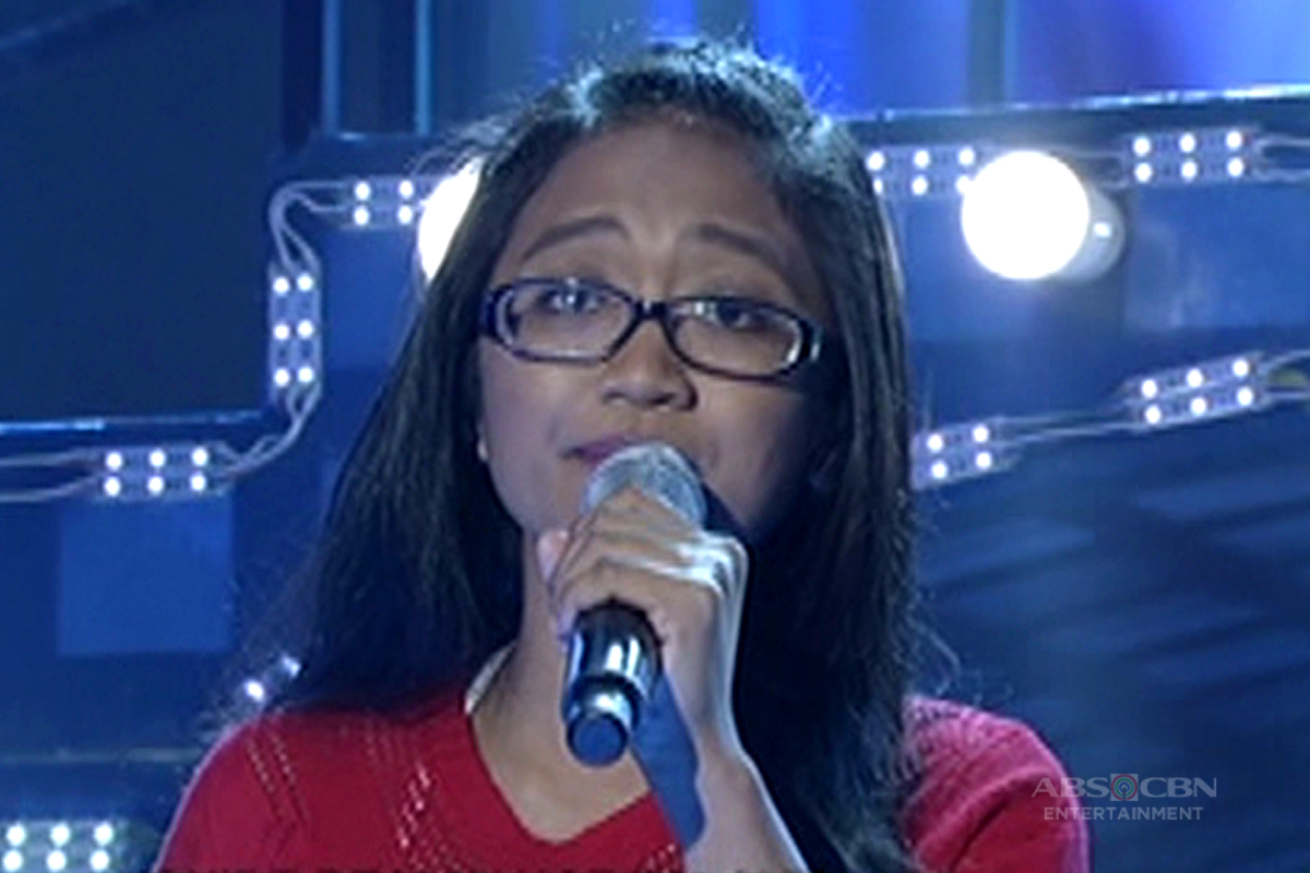 TNT: Metro Manila contender Pauline Pranada sings The Carpenters' Love Me For What I Am