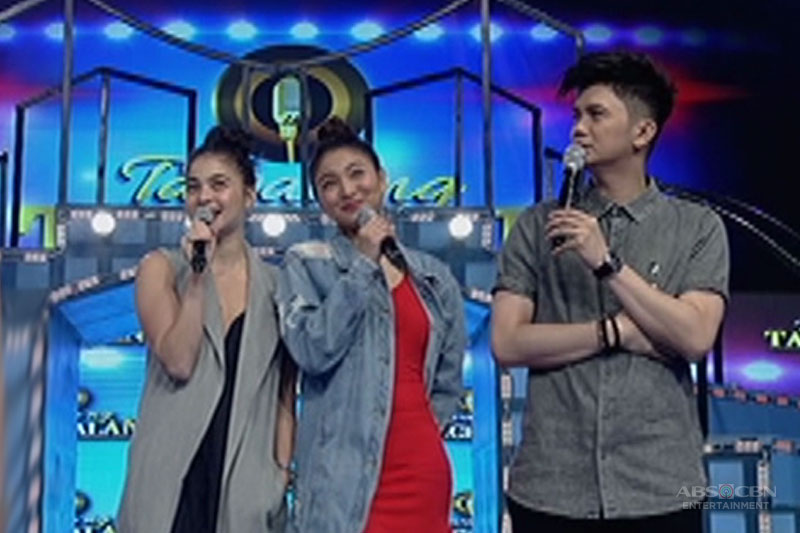 Anne and Nadine's twinning OOTD on It's Showtime