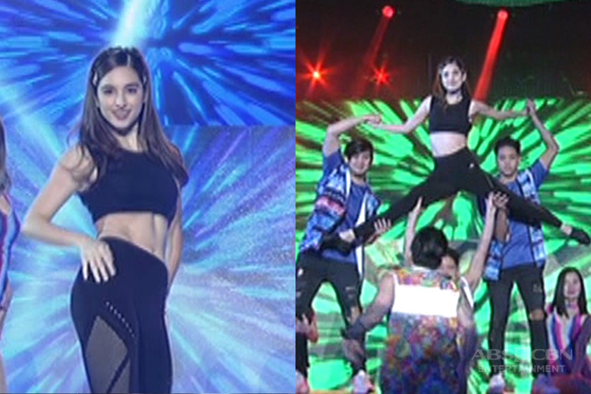 Coleen flaunts abs in nerve-racking dance number w/ Jhong!