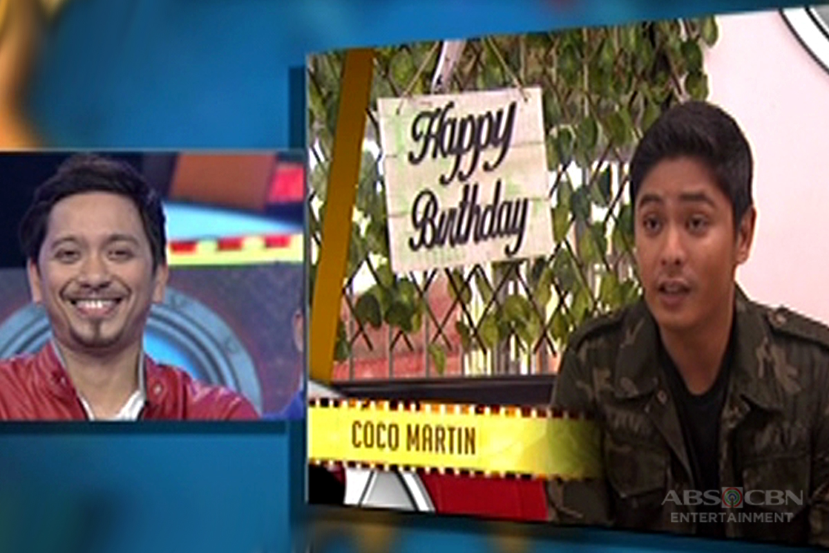Coco Martin's birthday message for his FPJAP co-star Jhong