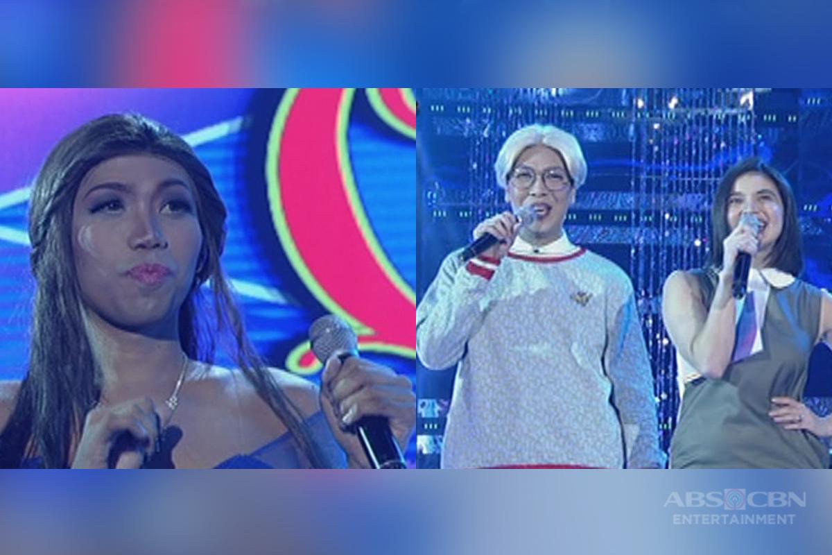 Miss Q & A: Anne, nakita ang pagkakahawig ni Vice Ganda at candidate no. 2