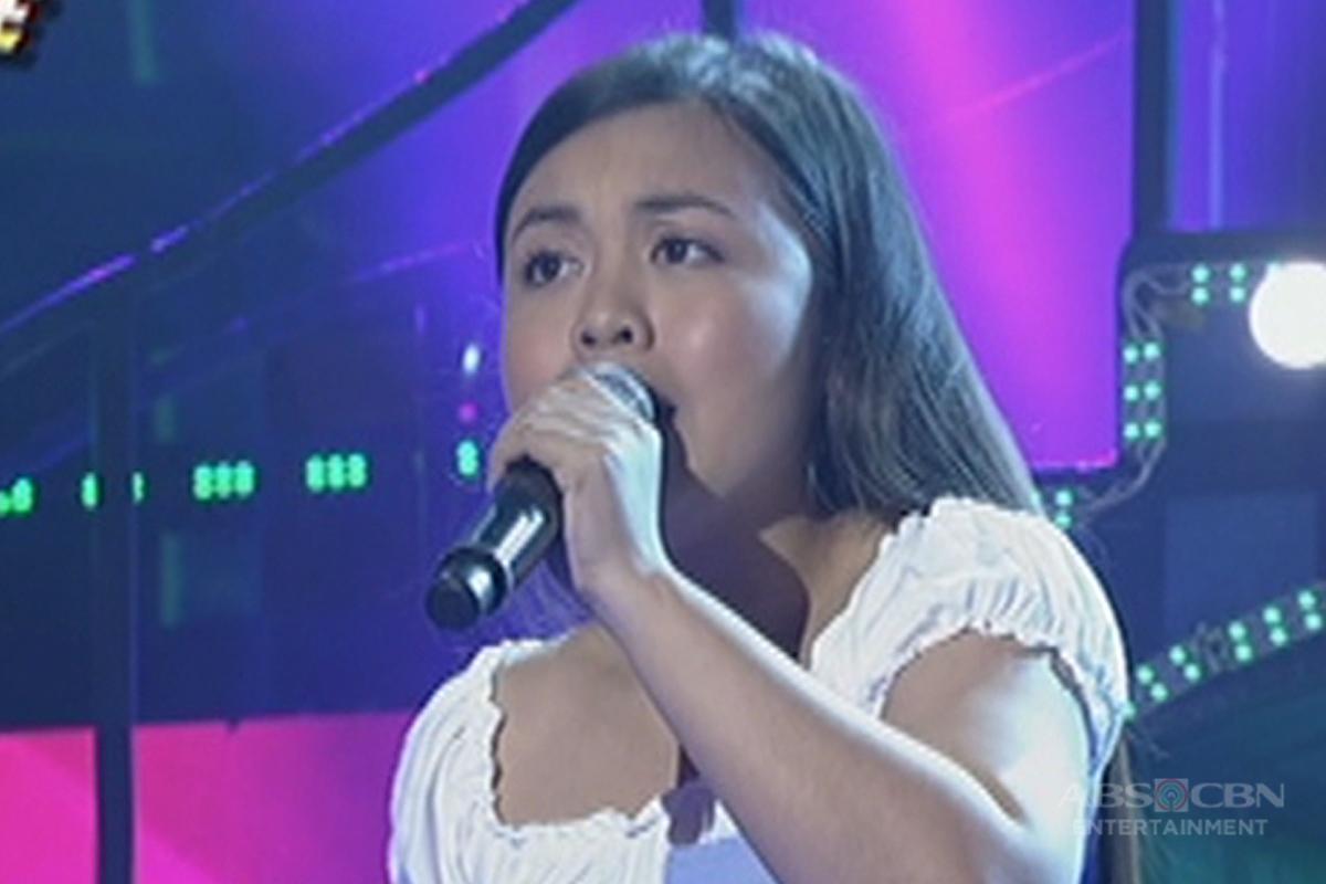 TNT: Visayas contender Albelyn Balatero sings Carol Banawa's Panunumpa