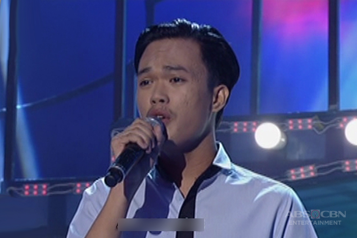 TNT: Visayas contender Bryan Dolendo sings Jimmy Bondoc's Let Me Be The One